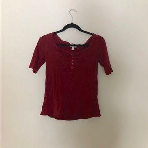 Ann Taylor Loft 3/4 inch sleeve shirt